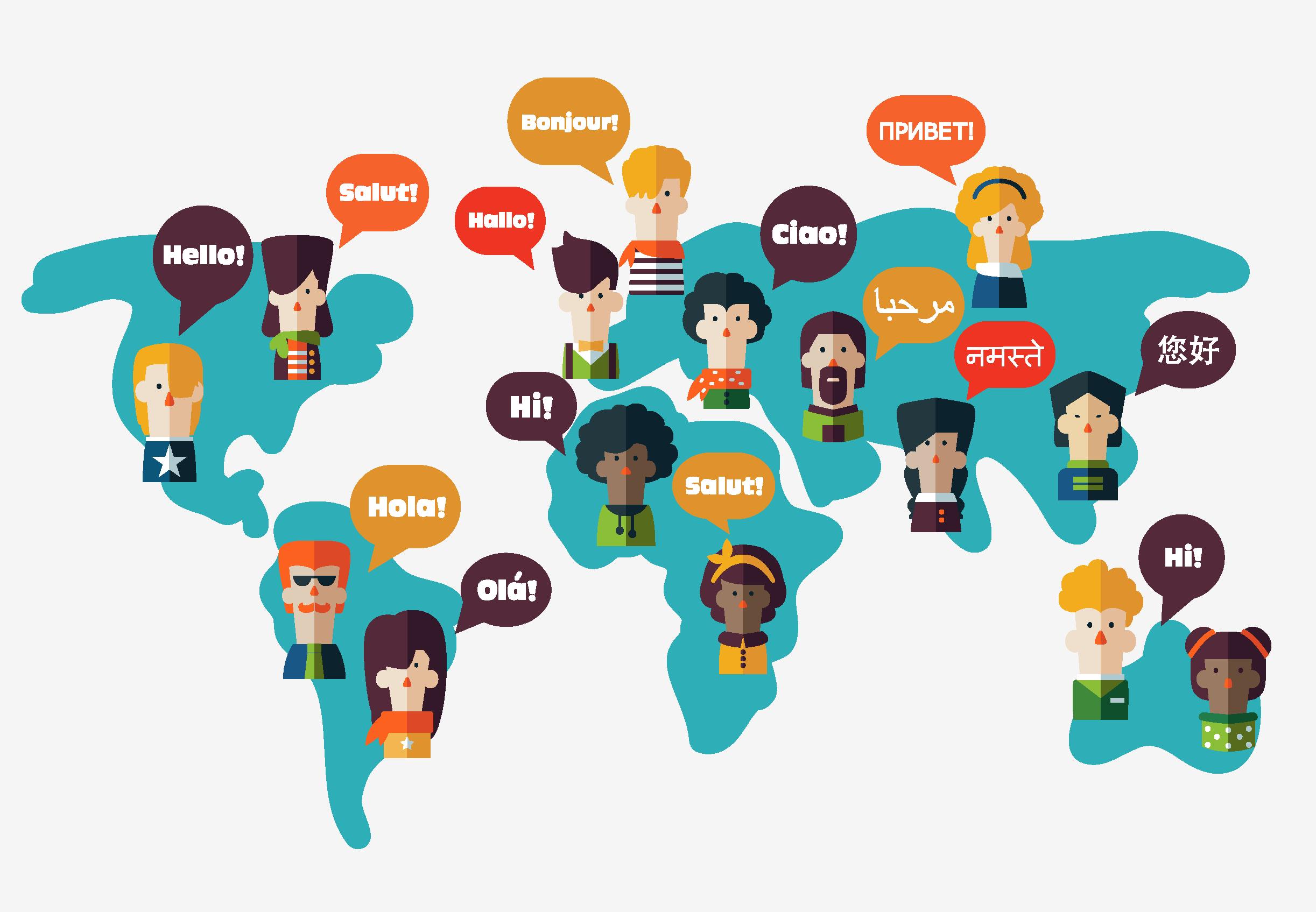 ریشه یابی زبان های مختلف