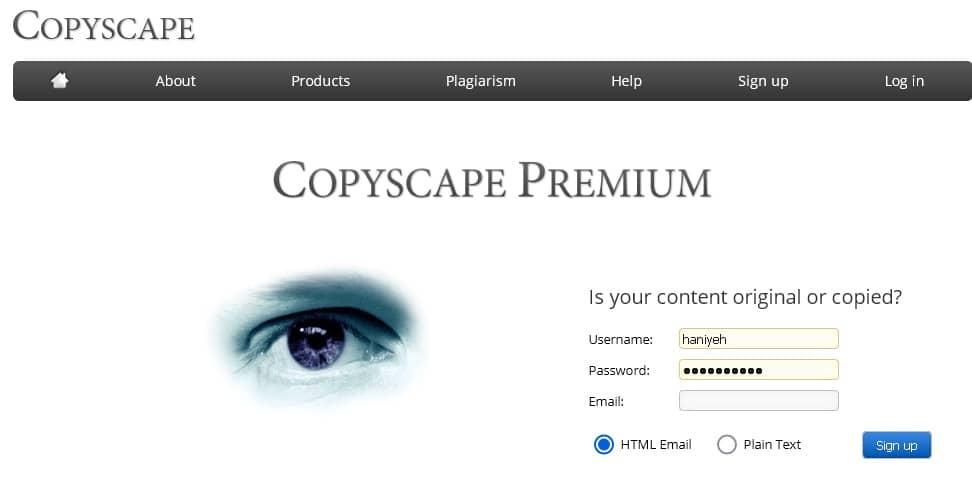 copyscapeسایت تشخیص سرقت ادبی