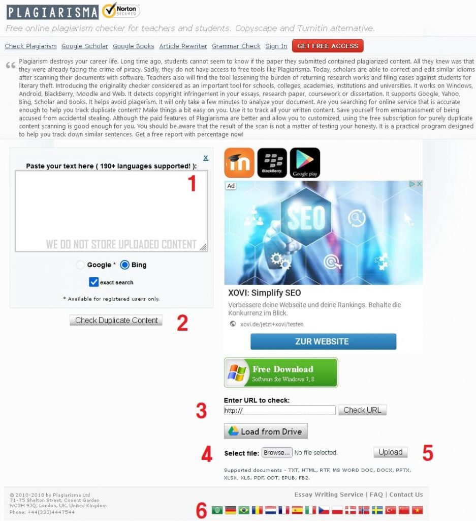 سایت plagiarisma